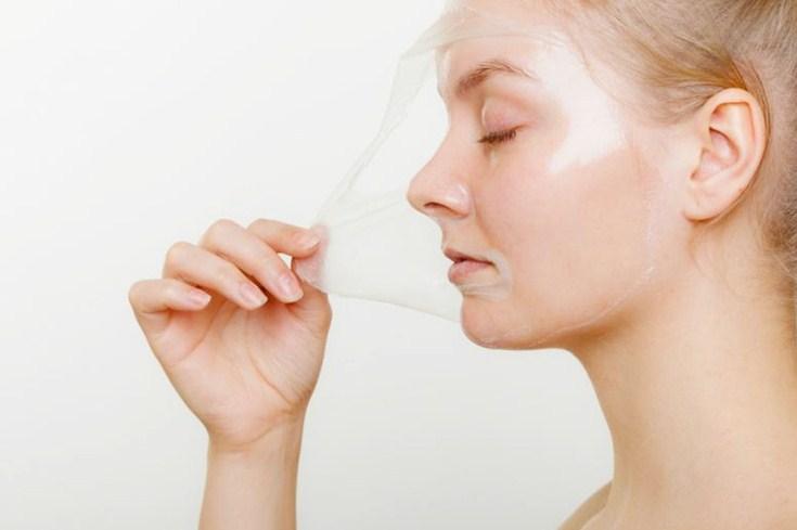 mascara de gelatina
