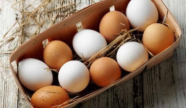Ovos para o crescimento dos cabelos