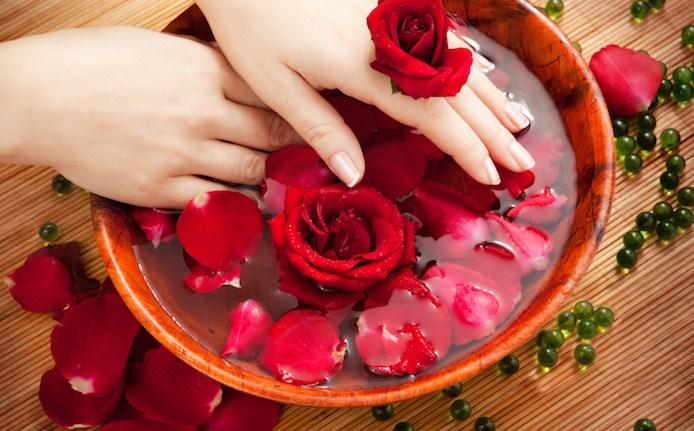 agua de rosa pocao de beleza