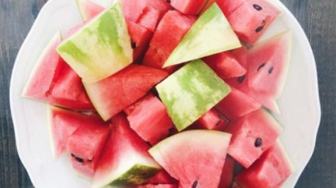melancia fruta com baixo carboidrato