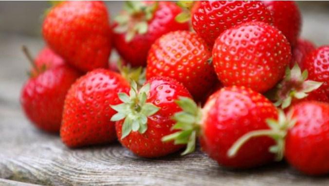 morango fruta com baixo carboidrato