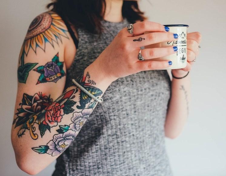 tatuagens femininas, mulher tatuada, tatuagem para mulher
