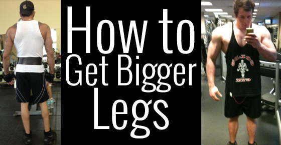 how to get bigger legs